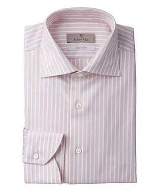 Canali Contemporary Fit Impeccabile Striped Dress Shirt