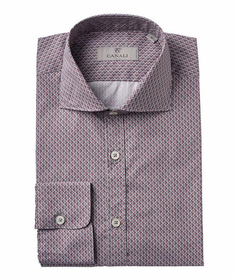 Geometric Printed Cotton Sport Shirt image 0