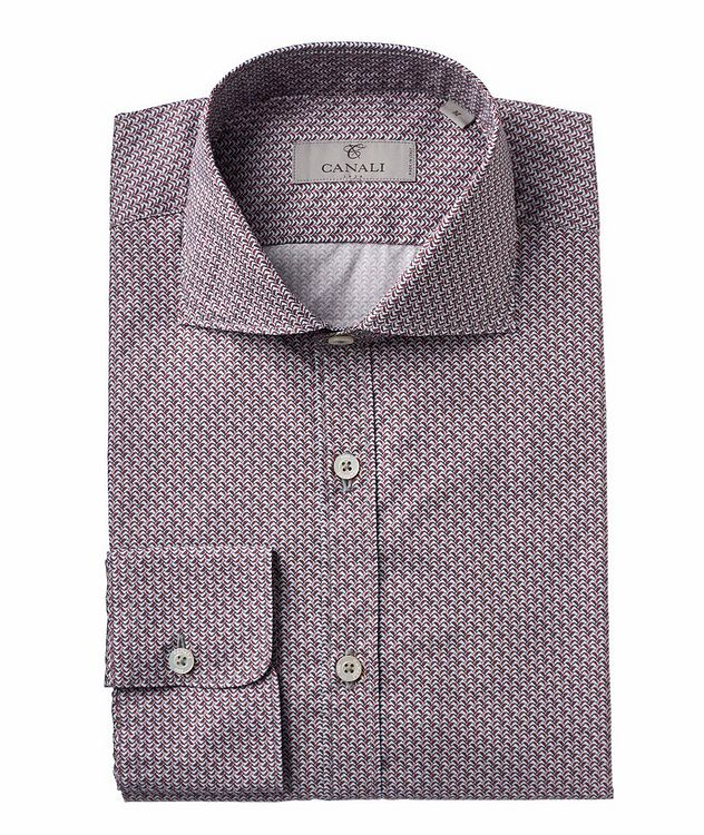 Geometric Printed Cotton Sport Shirt picture 1