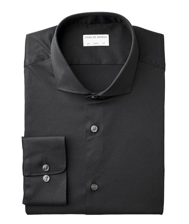 Farrell Slim Fit Stretch-Cotton Dress Shirt picture 1