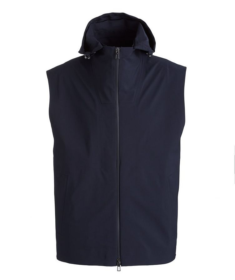 Storm System Stretch-Wool, Nylon, and Silk Vest image 0