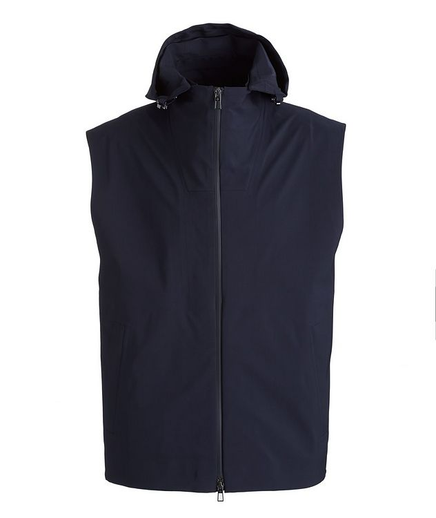Storm System Stretch-Wool, Nylon, and Silk Vest picture 1