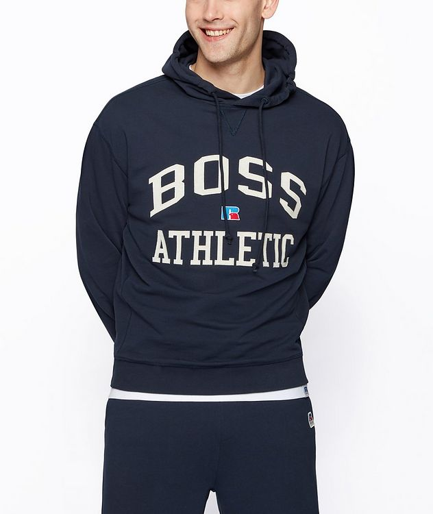 BOSS x Russell Athletic Organic Cotton Hoodie picture 2
