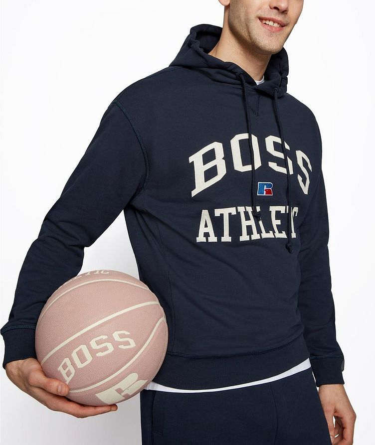 BOSS x Russell Athletic Organic Cotton Hoodie image 2