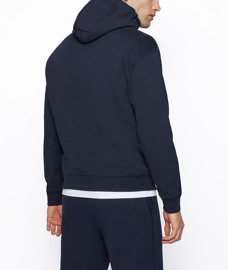 BOSS x Russell Athletic Organic Cotton Hoodie image 3