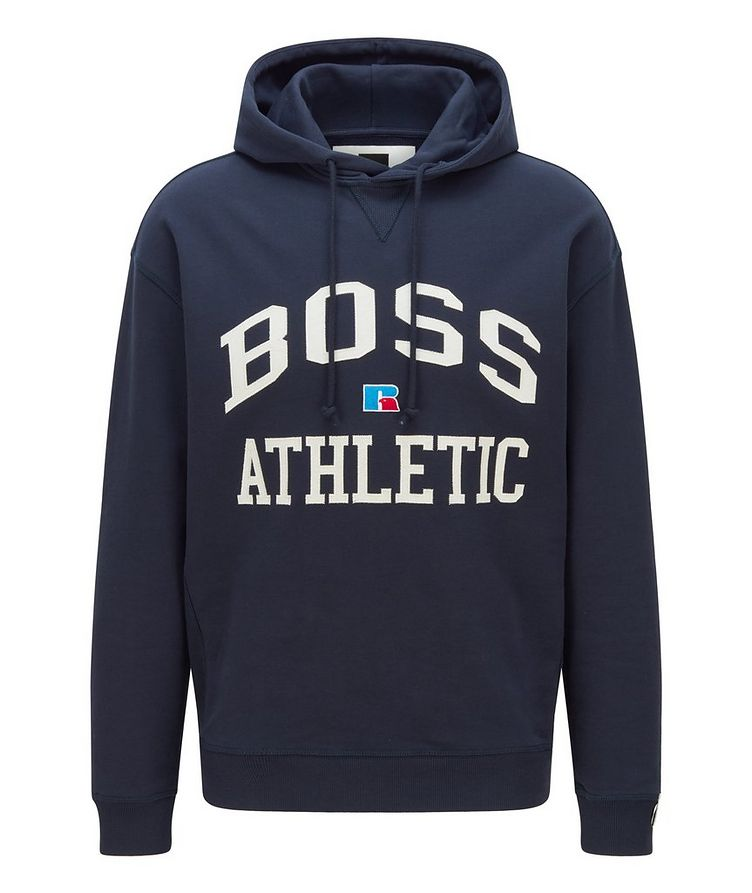 BOSS x Russell Athletic Organic Cotton Hoodie image 0