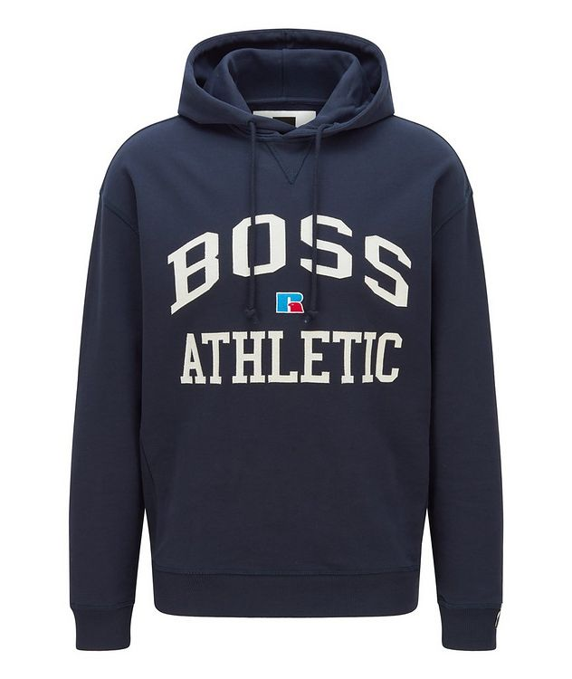 BOSS x Russell Athletic Organic Cotton Hoodie picture 1