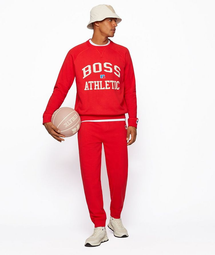 BOSS x Russell Athletic Organic Cotton Hoodie image 5