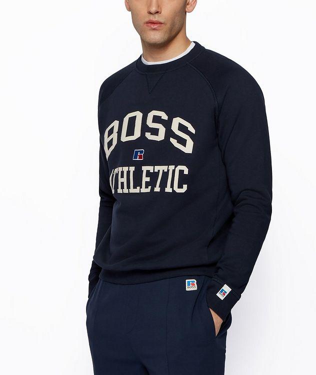 BOSS x Russell Athletic Organic Cotton Sweatshirt  picture 2