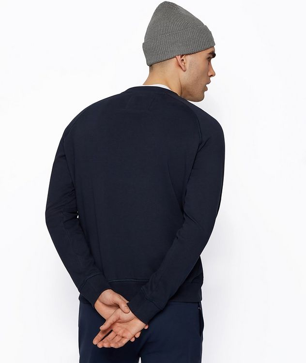 BOSS x Russell Athletic Organic Cotton Sweatshirt  picture 3