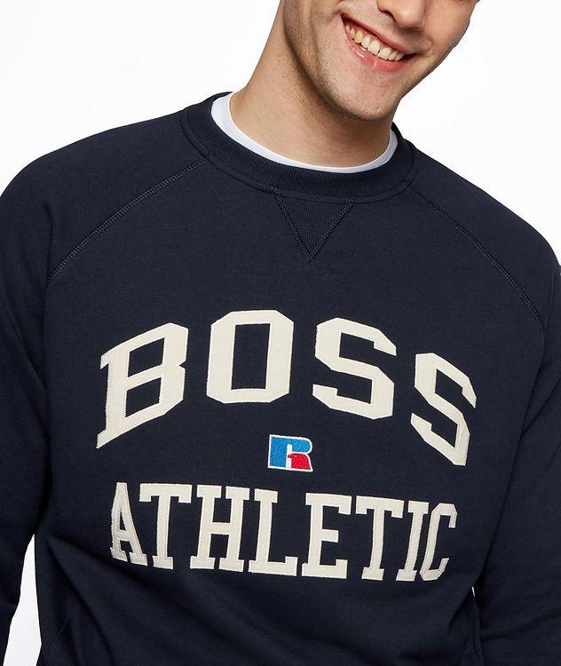 BOSS x Russell Athletic Organic Cotton Sweatshirt  picture 4