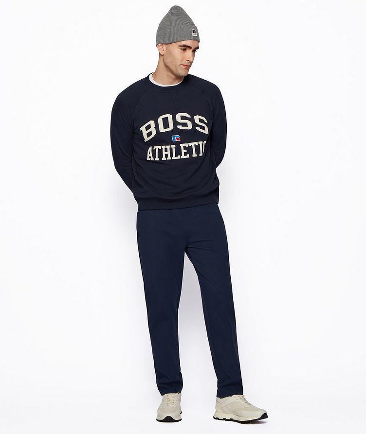 BOSS x Russell Athletic Organic Cotton Sweatshirt  image 4