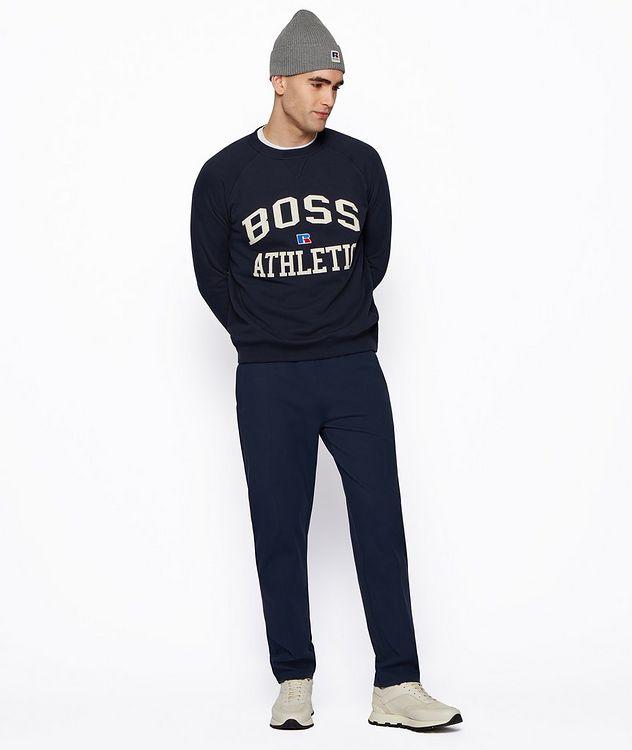 BOSS x Russell Athletic Organic Cotton Sweatshirt  picture 5