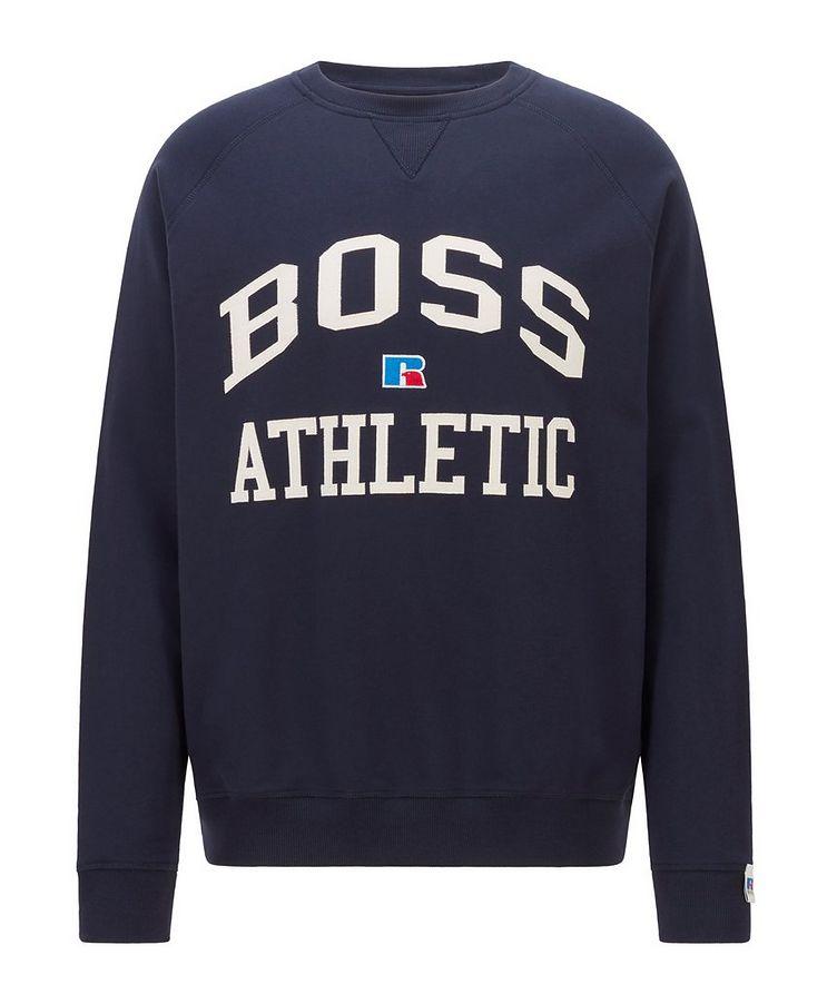 BOSS x Russell Athletic Organic Cotton Sweatshirt  image 0