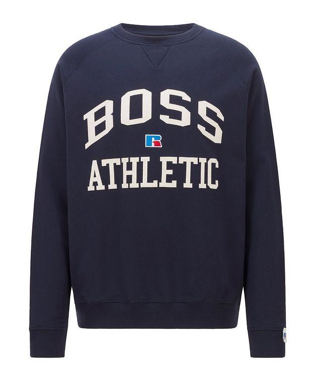 BOSS x Russell Athletic Organic Cotton Sweatshirt  picture 1