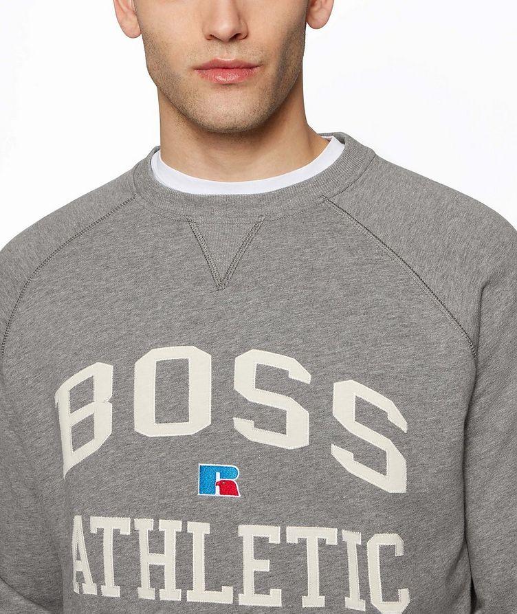 BOSS x Russell Athletic Organic Cotton Sweatshirt  image 3