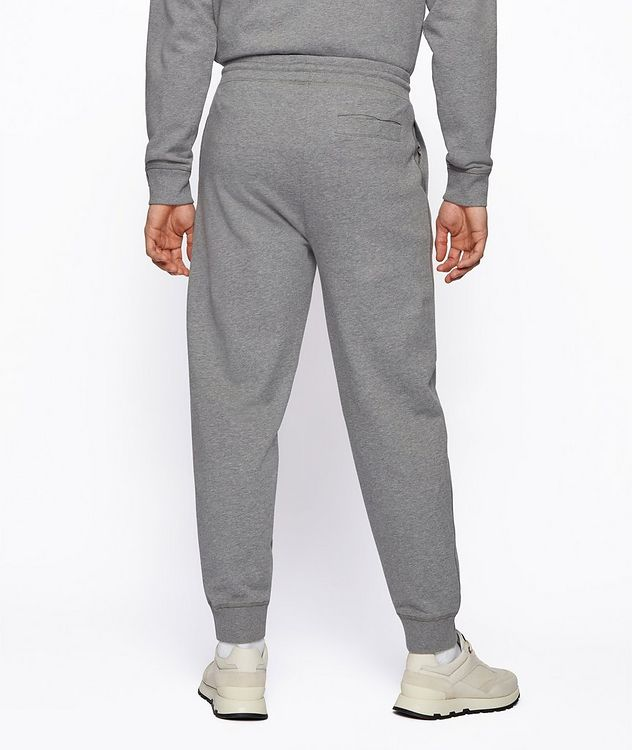 BOSS x Russell Athletic Organic Cotton Terry Joggers picture 3