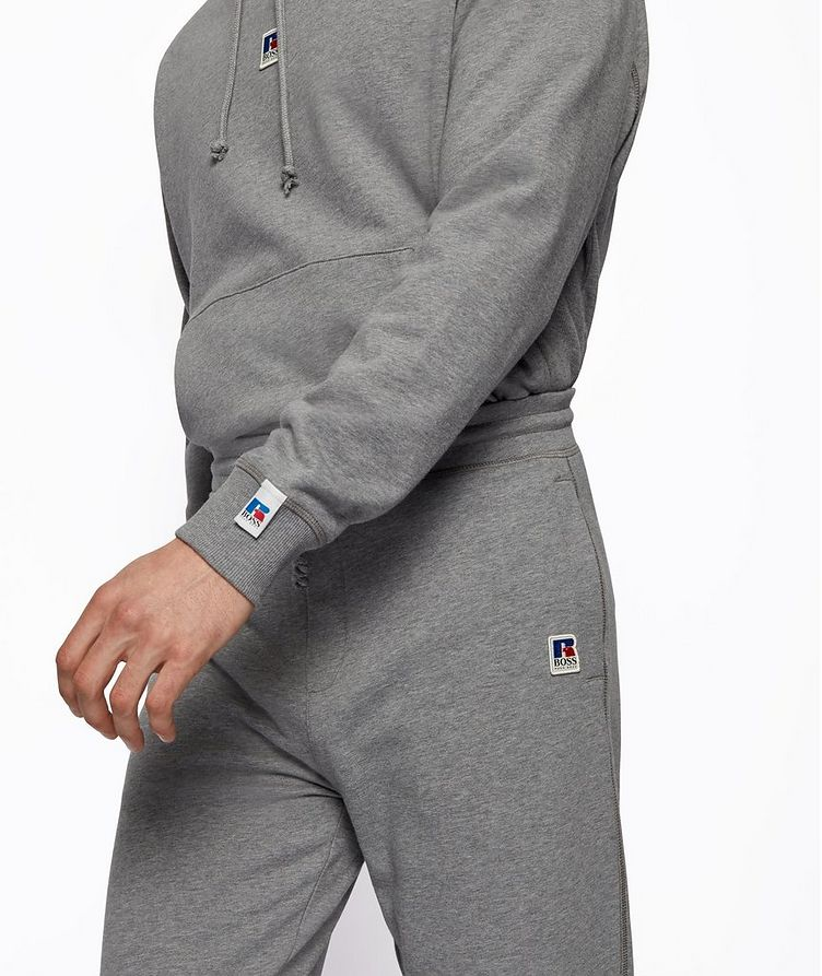 BOSS x Russell Athletic Organic Cotton Terry Joggers image 4