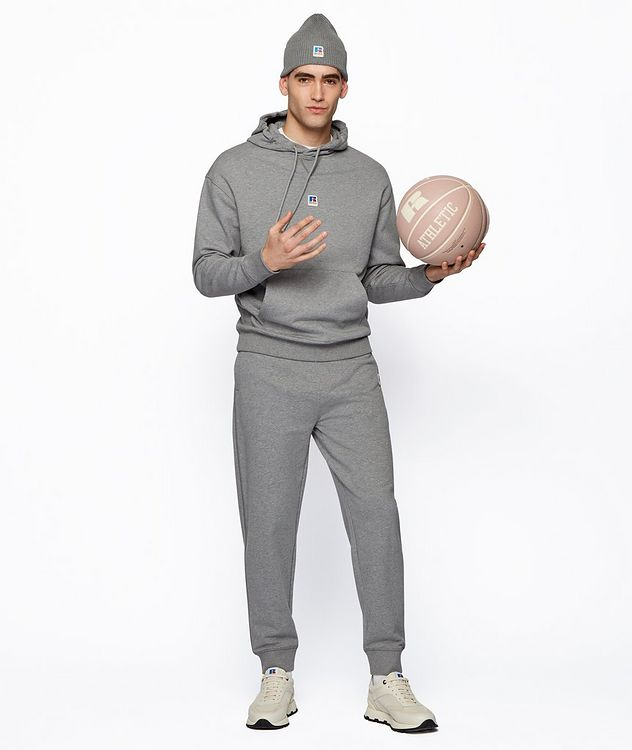 BOSS x Russell Athletic Organic Cotton Terry Joggers picture 6
