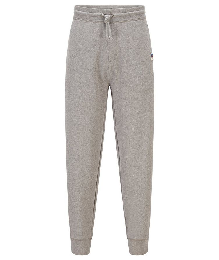 BOSS x Russell Athletic Organic Cotton Terry Joggers image 0
