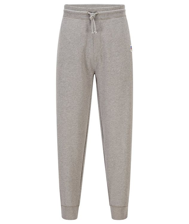 BOSS x Russell Athletic Organic Cotton Terry Joggers picture 1