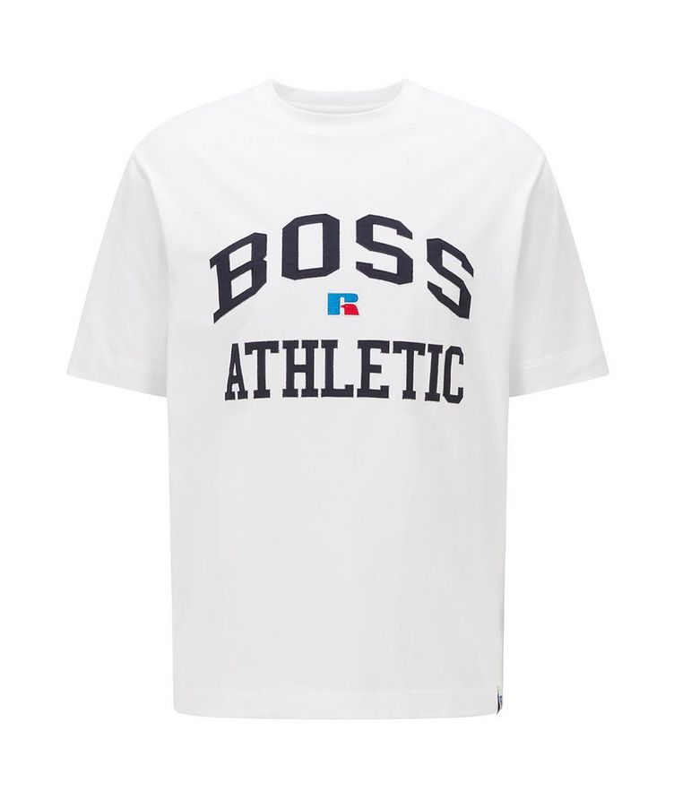 BOSS x Russell Athletic Stretch Cotton T-shirt  image 0