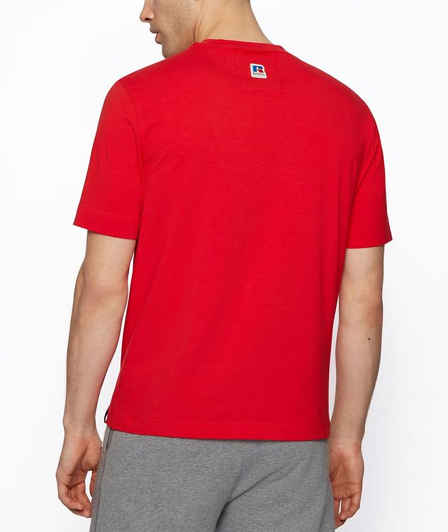 BOSS x Russell Athletic Stretch Cotton T-shirt  picture 3