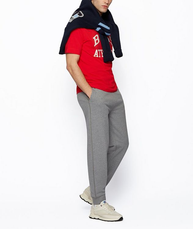 BOSS x Russell Athletic Stretch Cotton T-shirt  picture 5