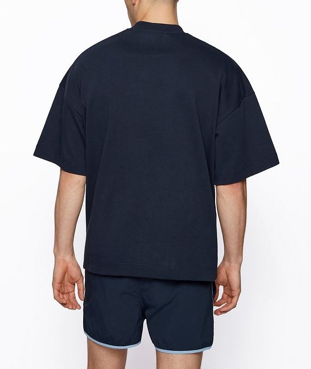 BOSS x Russell Athletic Organic Cotton T-shirt picture 3