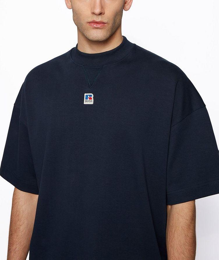BOSS x Russell Athletic Organic Cotton T-shirt image 3