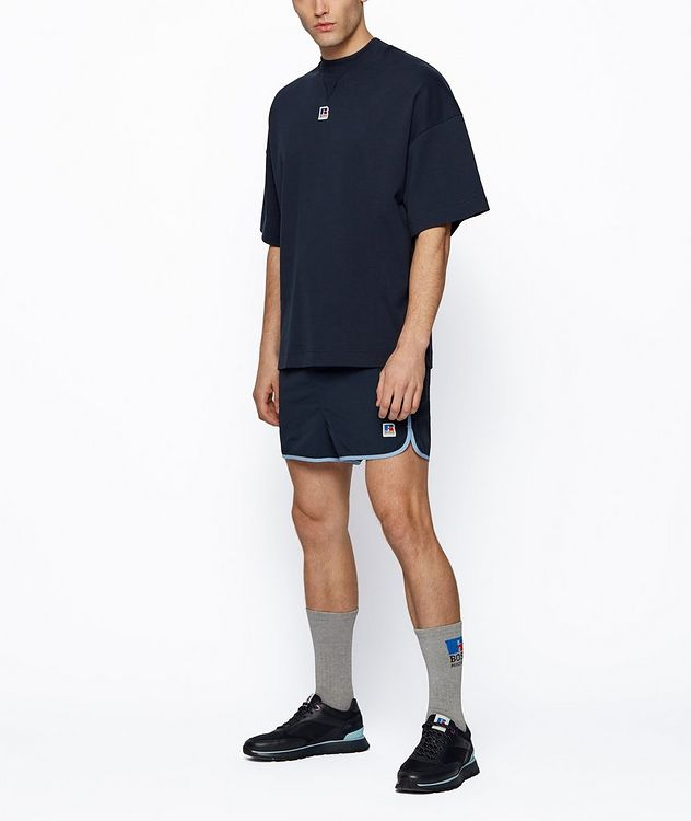BOSS x Russell Athletic Organic Cotton T-shirt picture 5