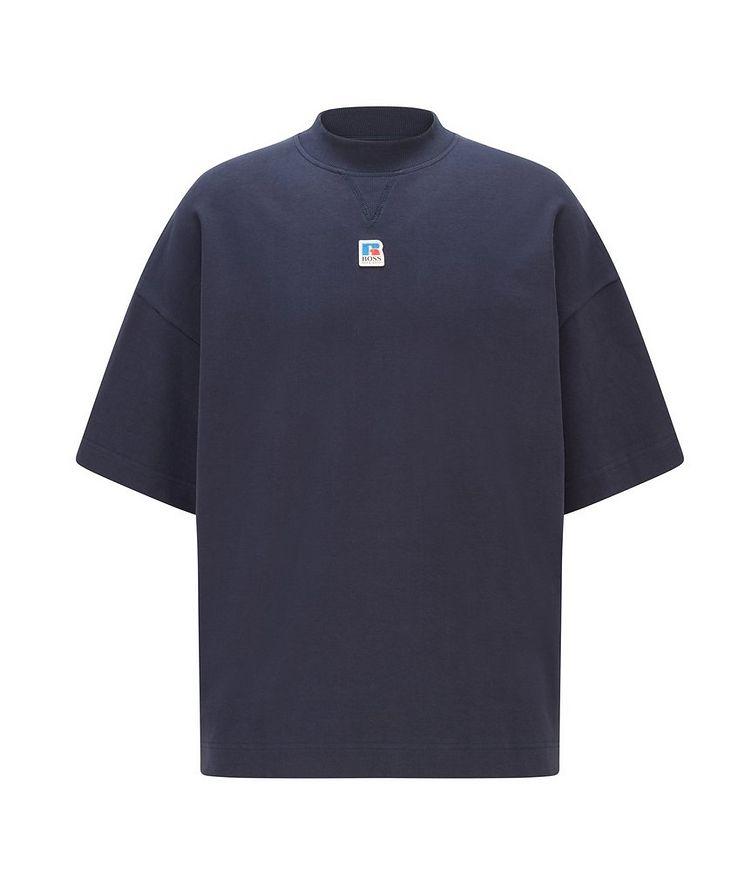 BOSS x Russell Athletic Organic Cotton T-shirt image 0