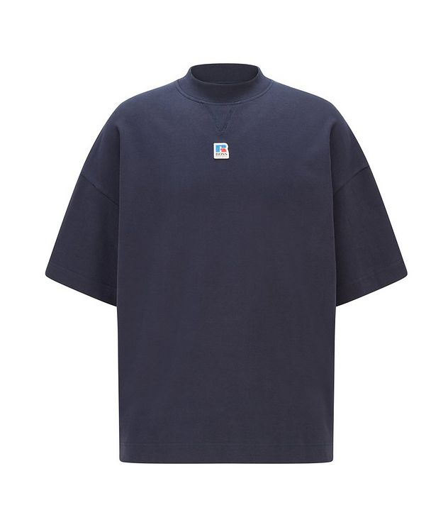 BOSS x Russell Athletic Organic Cotton T-shirt picture 1