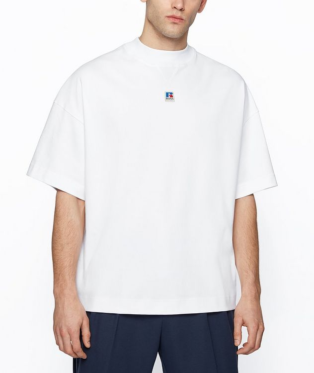 BOSS x Russell Athletic Organic Cotton T-shirt picture 2