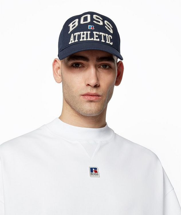 BOSS x Russell Athletic Organic Cotton T-shirt picture 4