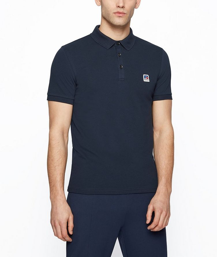 BOSS x Russell Athletic Polo Shirt image 1