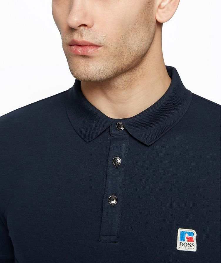 BOSS x Russell Athletic Polo Shirt image 3
