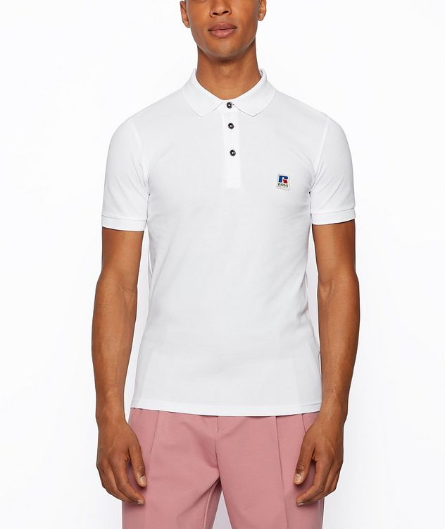BOSS x Russell Athletic Polo Shirt picture 2