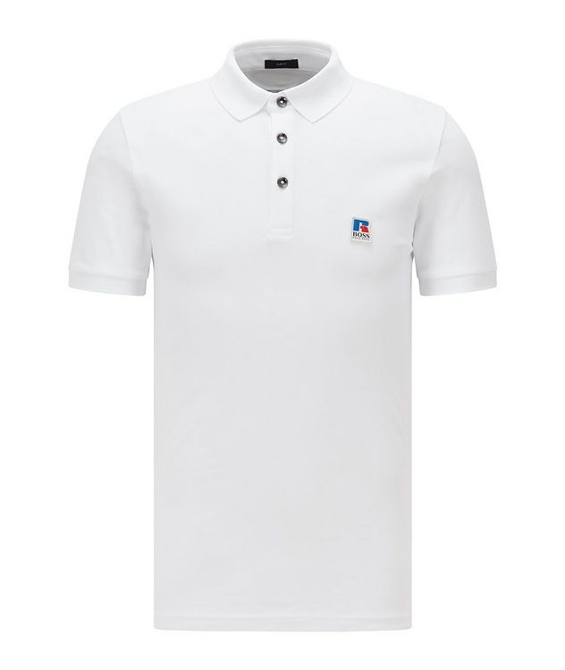 BOSS x Russell Athletic Polo Shirt picture 1