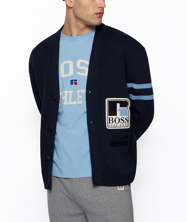 BOSS x Russell Athletic Cardigan  picture 2