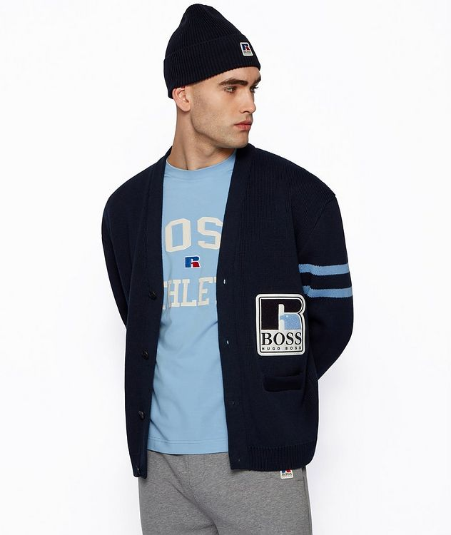 BOSS x Russell Athletic Cardigan  picture 4