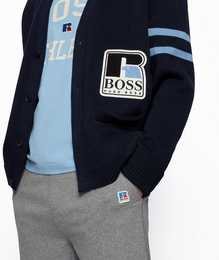 BOSS x Russell Athletic Cardigan  image 4