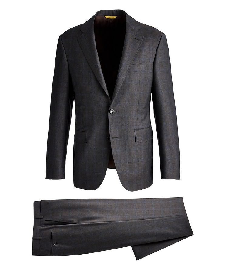 Kei Checked Wool Suit image 0