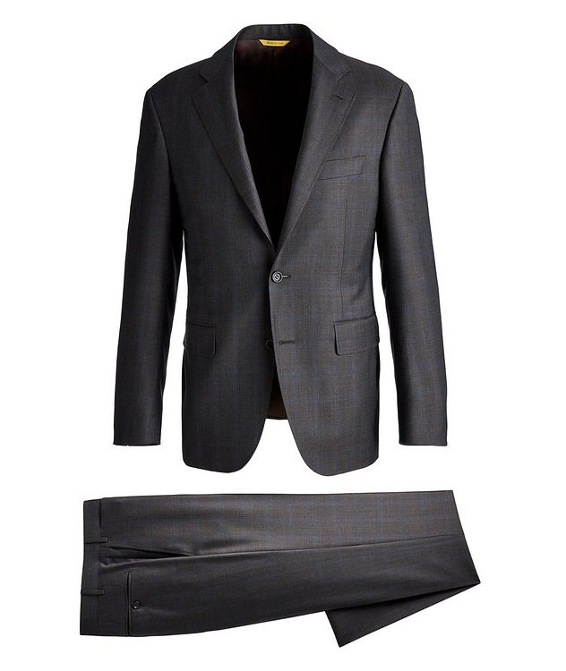 Kei Checked Wool Suit picture 1