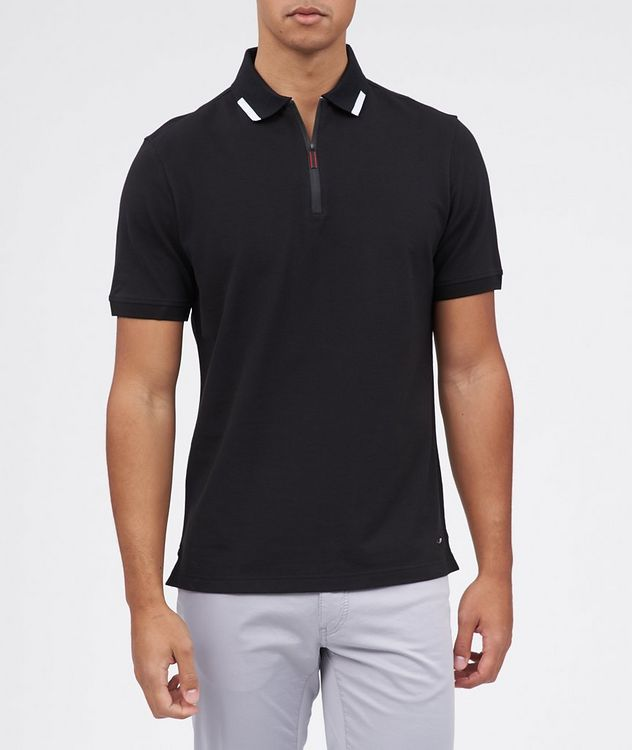 Percy Short Sleeve Pique Polo picture 1