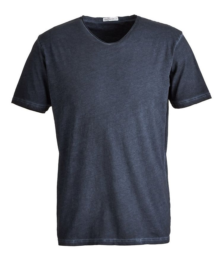 Milo V-Neck Pima-Cotton T-Shirt image 0