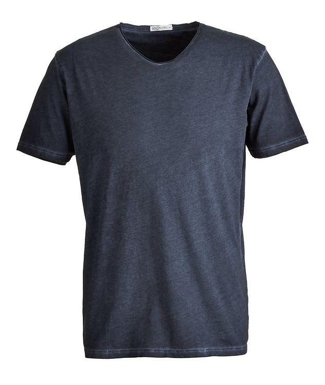 Milo V-Neck Pima-Cotton T-Shirt picture 1