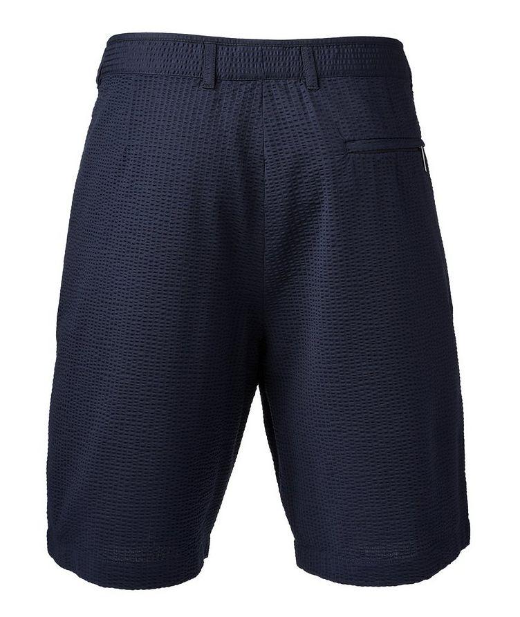 Cotton-Blend Bermuda Shorts image 1