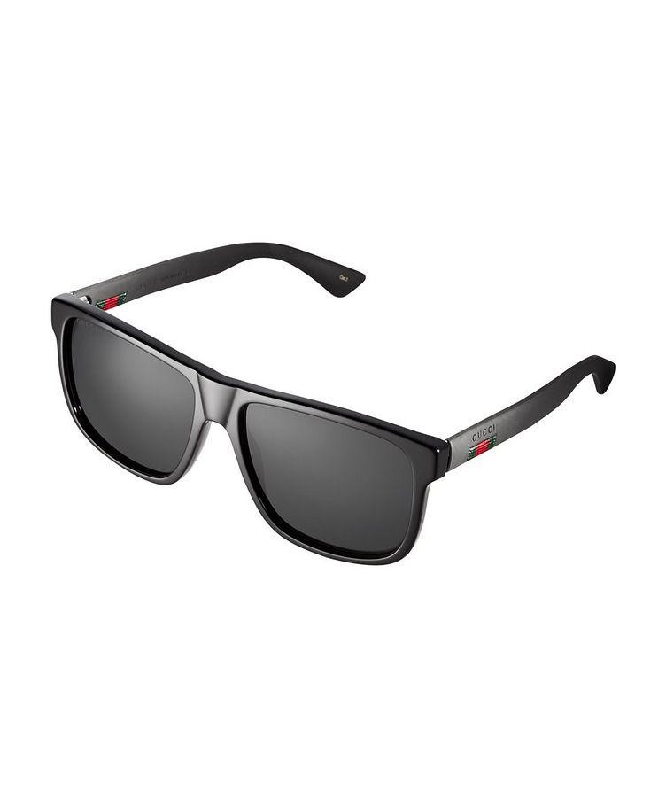 Ribbon Rectangle Sunglasses image 0