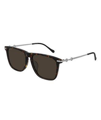 Gucci Horsebit Havana Sunglasses